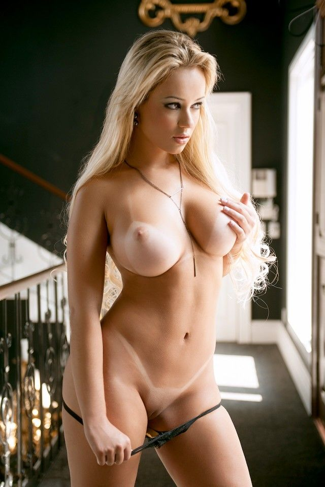 Naked tanned girls with big tits